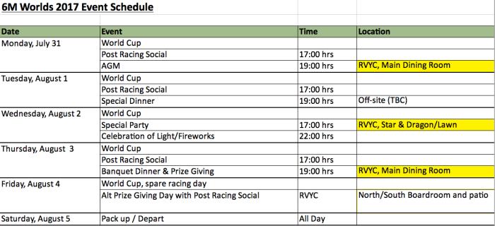worlds schedule